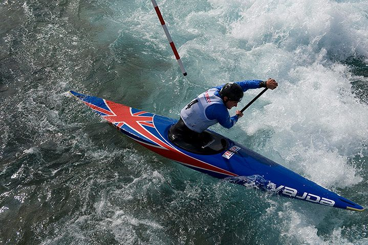 Olympic Canoeing trials - in pictures