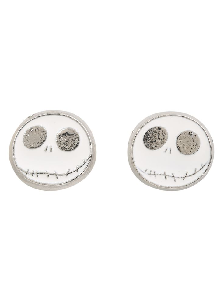 NBC Jack stud earrings.  Your ghoulish earlobes will thank you.