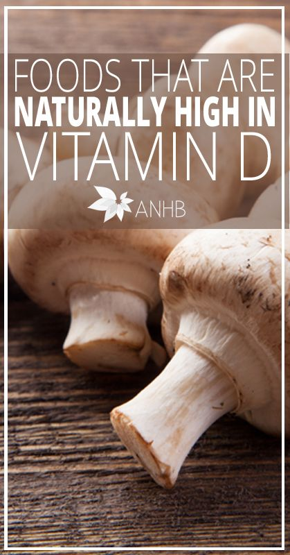 Foods That Are Naturally High In Vitamin D - All Natural Home and Beauty #vitamind #health #realfood