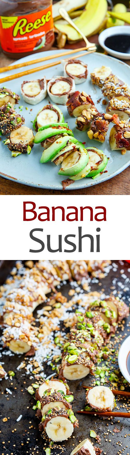 Banana Sushi