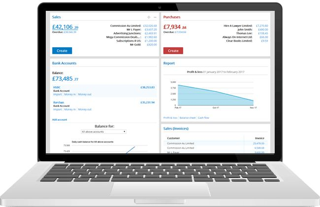 Online Accounting Software – Bookkeeping for UK Small Business #small #business #online #accounting http://kansas.nef2.com/online-accounting-software-bookkeeping-for-uk-small-business-small-business-online-accounting/  # Online accounting software made simple Small business accounting software that you'll love! If you run a small business or you're a sole trader, you'll know that balancing the books can be a distraction. Clear Books small business accounting software was built with you in…