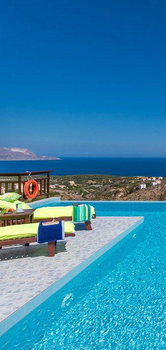 Stunning View Villa in Almirida, Chania, Crete