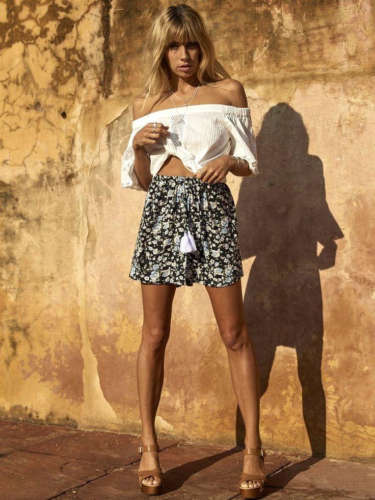 Kivari - Samode Floral Mini Skirt