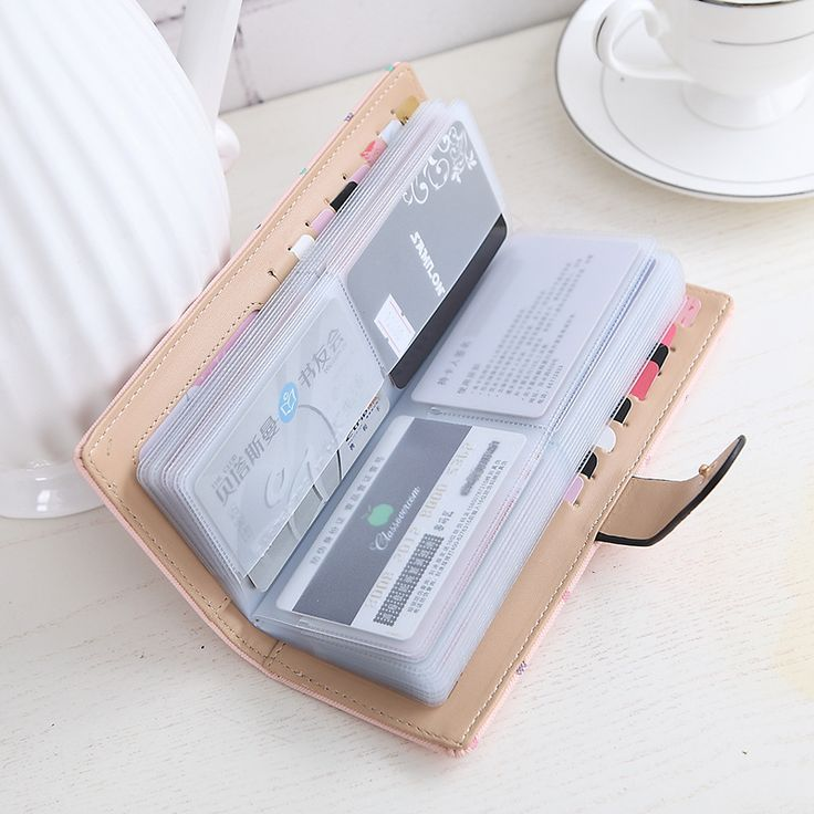 2017 women Card credit wallet two-folded buckle long design Card Holders lady's card bag wallet female Credit Card Holder