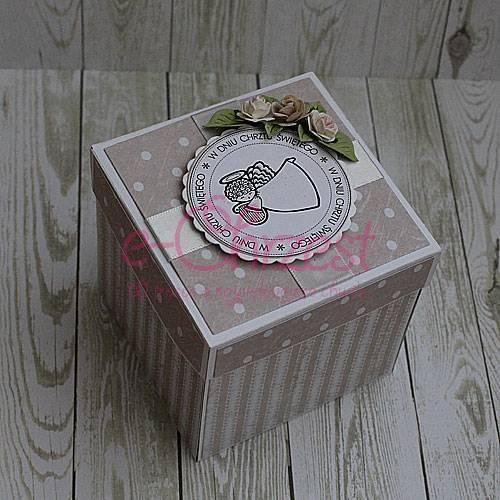 Pudełko z życzeniami na chrzest