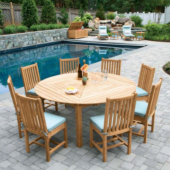Snowdon Teak Extendable Dining Table With Talbot Ii Chairs