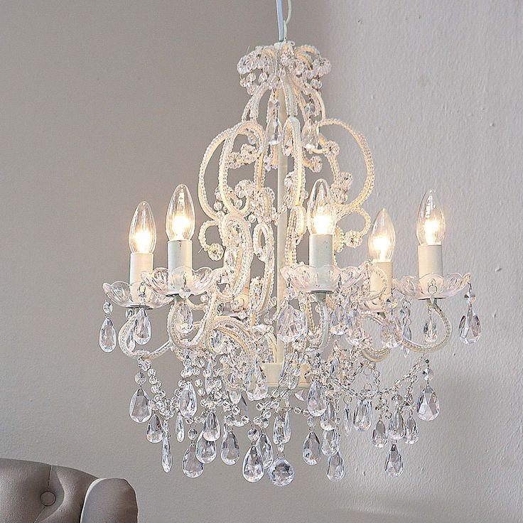 Kronleuchter Weiss Landhaus Lampen