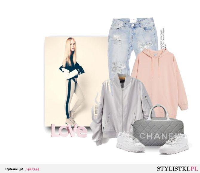 Różowa bluza - Stylistki.pl