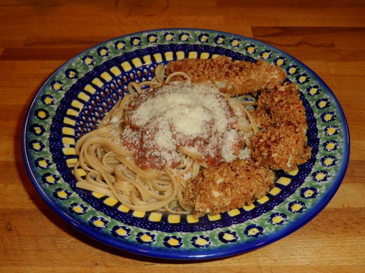 Chicken Parmesan! This is came to 360 calories. 4 oz crispy baked ...
