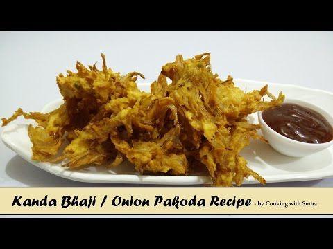 Onion Pakoda / Kanda Bhaji Recipe | Onion Fritters