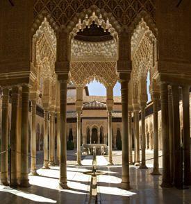 The Alhambra Palace   Granada   Spain