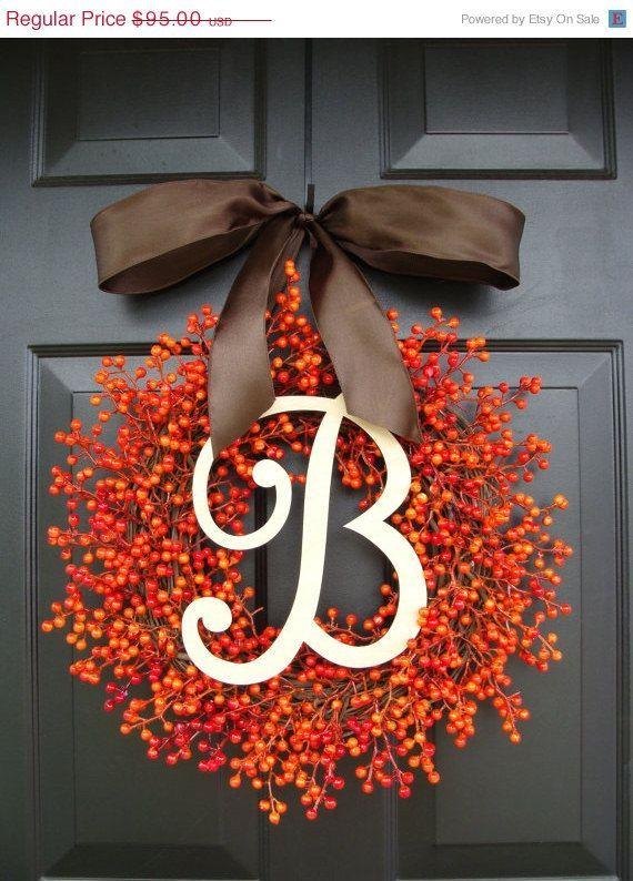 121175046197379756 Beautiful Fall wreath;))