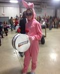 Energizer Bunny Homemade Costume - 2014 Halloween Costume Contest