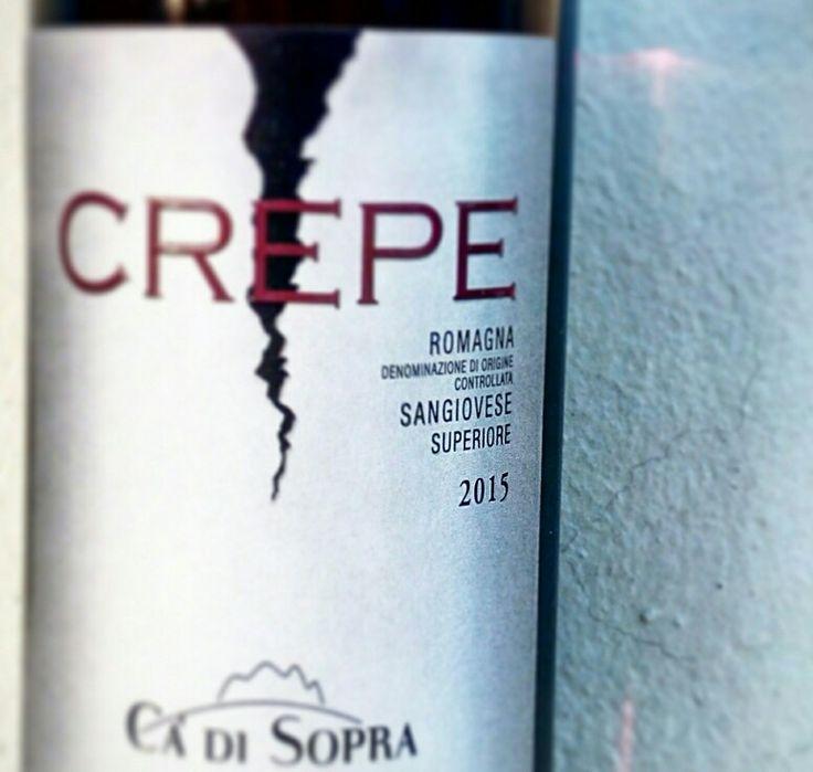 CREPE Romagna DOC Sangiovese Superiore 100% Sangiovese