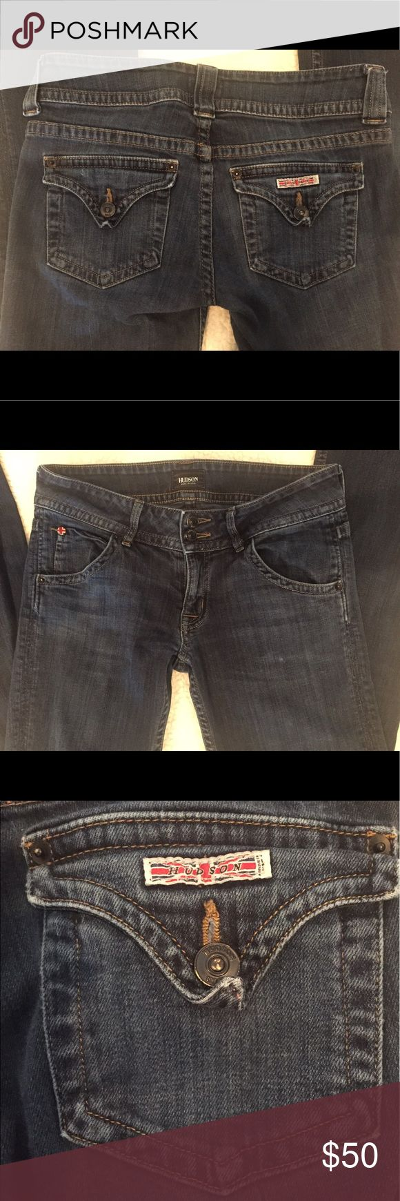 💥SUNDAY SALE💥HUDSON jeans❤️ Women's HUDSON jeans in dark wash. These are an amazing pair of jeans! Great dark color with slight distressed look and they're really comfy!! Hudson Jeans Jeans