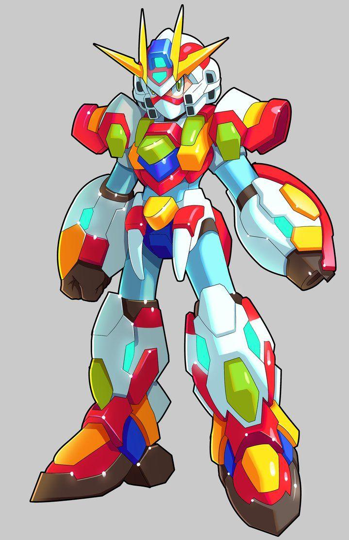 Commission: X And Burning Mirai Gundam Fusion by ultimatemaverickx.deviantart.com on @DeviantArt