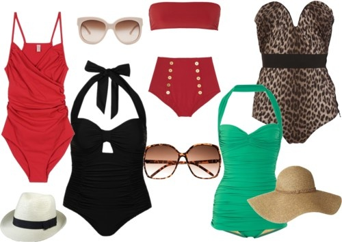 vaca ready, curvy girl style!.... love the GREEEN ONEE!!