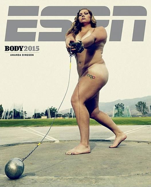 ESPN Body Issue 2015 #magazine #cover