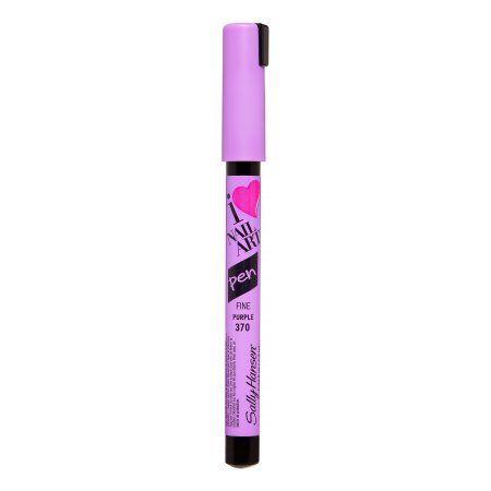 Sally Hansen I Heart Nail Art Fine Pen 370 Purple, 0.04 FL OZ