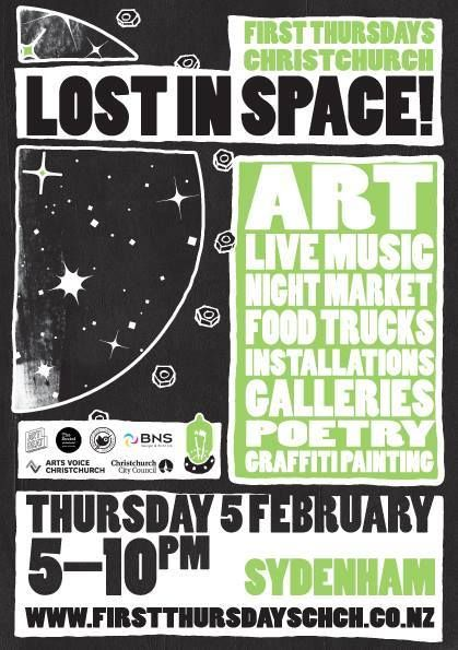 Lost In Space, First Thursday Event, The Colombo February 5th 2015