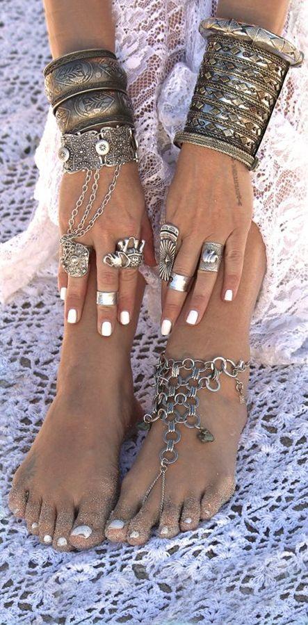 Bohemian style jewelry