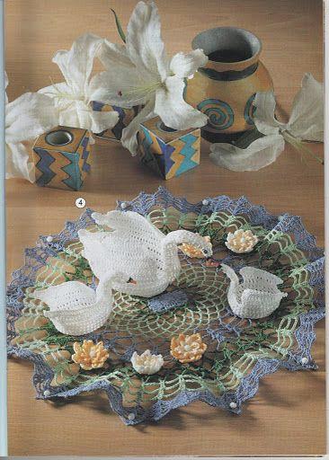 Free Crochet Swan Pattern – Marulu Rodrigues – Picasa tīmekļa albumi