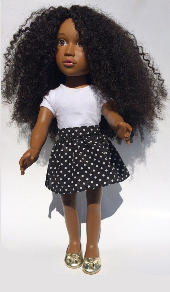 A Doll With Afro Hair You Can Actually Twist Out And Curl Hair