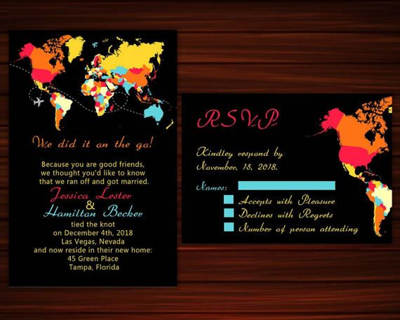 Hey, I found this really awesome Etsy listing at https://www.etsy.com/listing/505833400/colorful-map-elopement-invitation-and