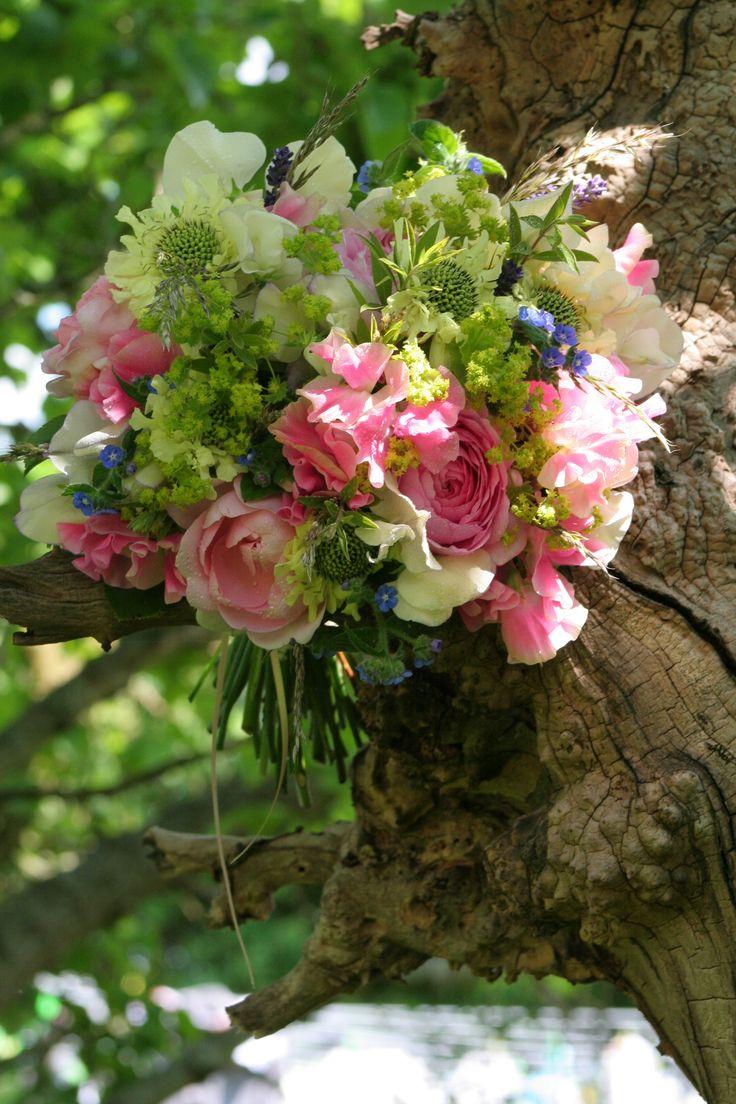 All from the cutting garden - June Bouquet