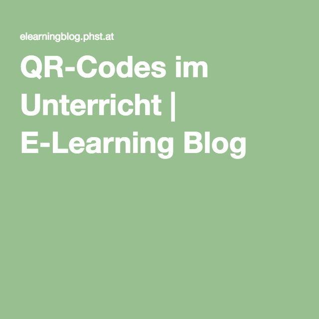 36 best QR Codes im Unterricht images on Pinterest | Qr codes ...