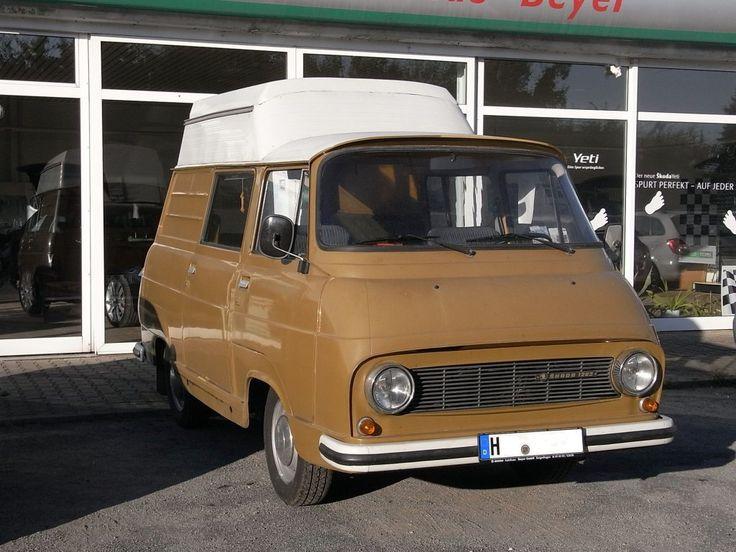 1977 Skoda 1203 camper conversion