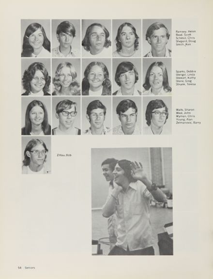 1973 Moon Valley High School Yearbook via Classmates.com