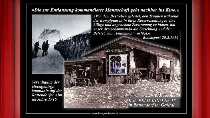 Sonderschau 2015: Krieg & Kino in den Karnischen Alpen 1915-18