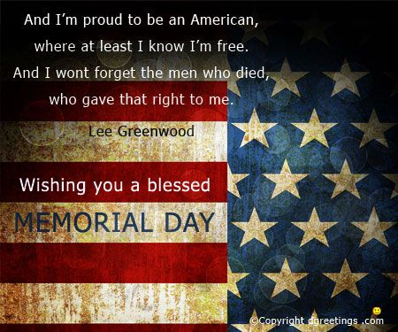 memorial day greeting