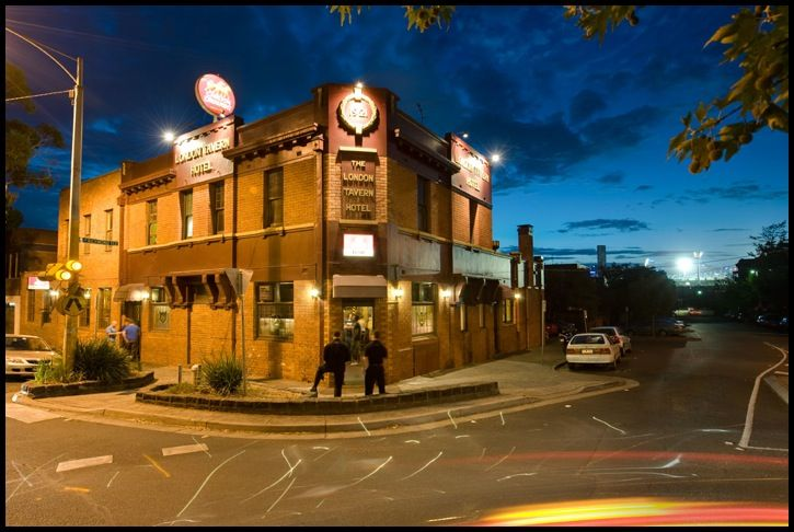 My local = the taverner