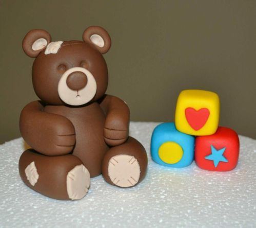 Baby Blocks Cake Topper