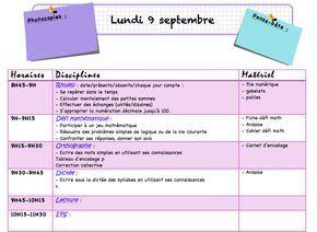 Nouveau cahier journal - La classe de Frisettes