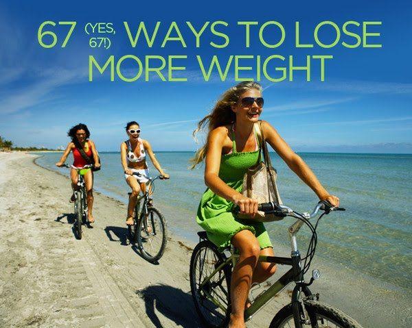 67 formas de bajar de peso