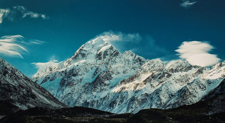 The Mighty Aoraki (Mt Cook) by Sebastian! http://www.glentanner.co.nz