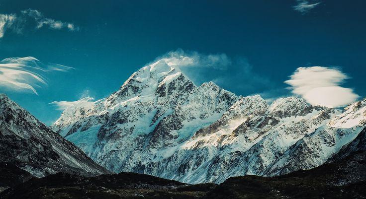 The Mighty Aoraki (Mt Cook) by Sebastian! http://www.glentanner.co.nz