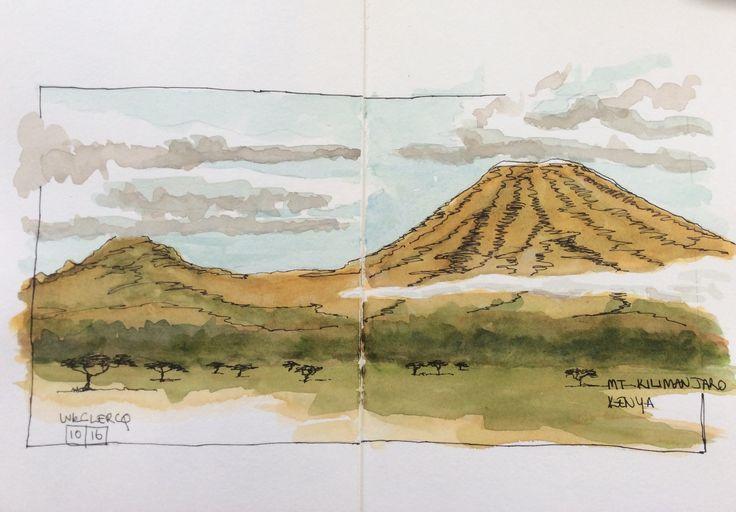 Mt Kilimanjaro, from Satao Elerai camp