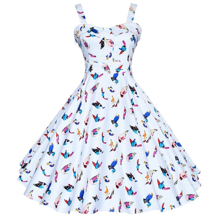 Maggie Tang Women's 1950s Vintage Rockabilly Full Circle