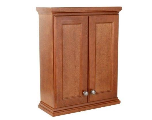Brentwood Over John Wall Cabinet in Amber, Bathroom Storage Furniture Organizer #StPaul
