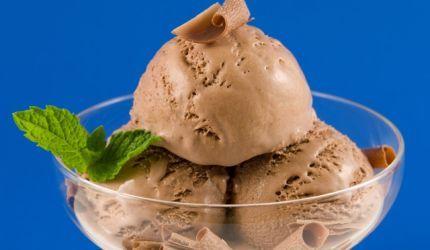 Zmrzlina z čokolády