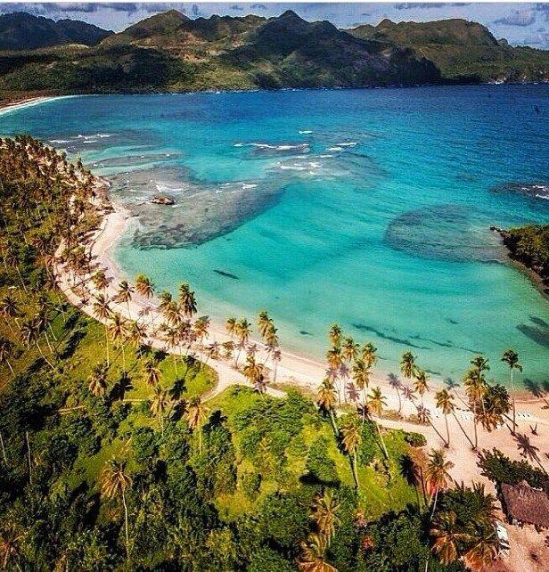 Playa Rincon, Samaná. República Dominicana.