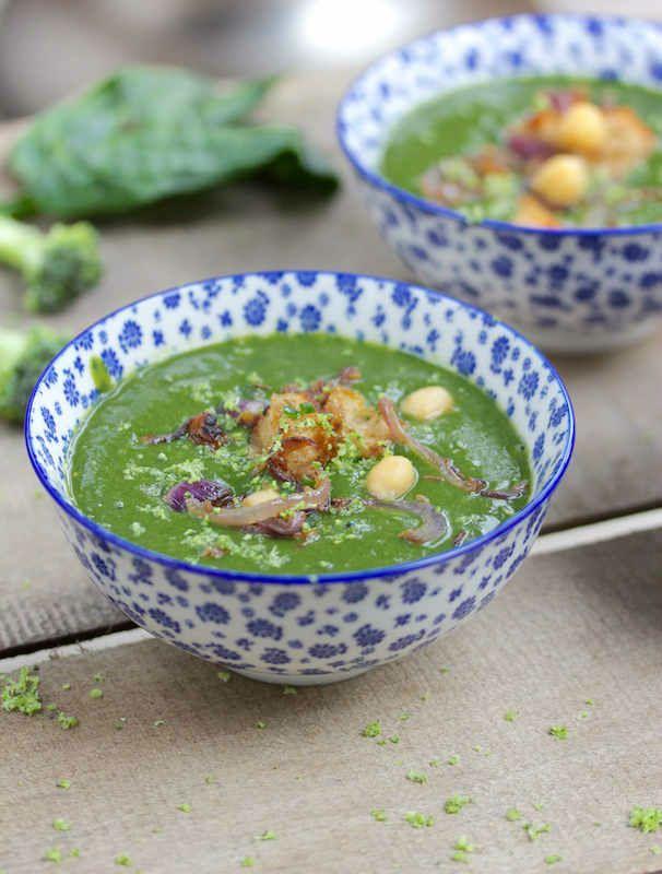 soupe épinards brocolis