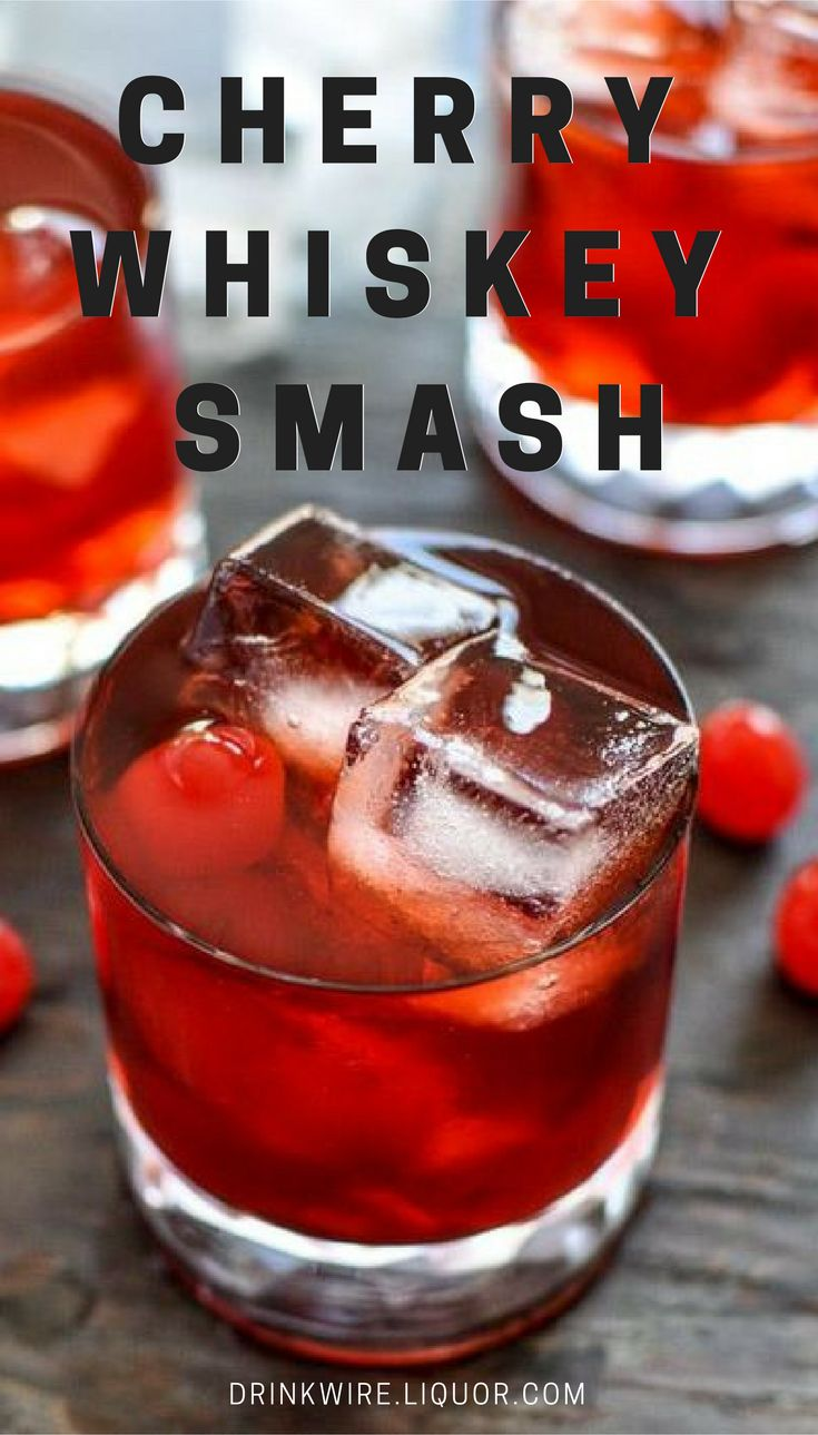 This twist on the Old Fashioned will warm you up and brighten the shortened fall days with its deep red color and fresh-picked cherry flavor. Grab a cocktail shaker and muddler, then settle in for rich flavor that's as luxurious as a cashmere sweater.