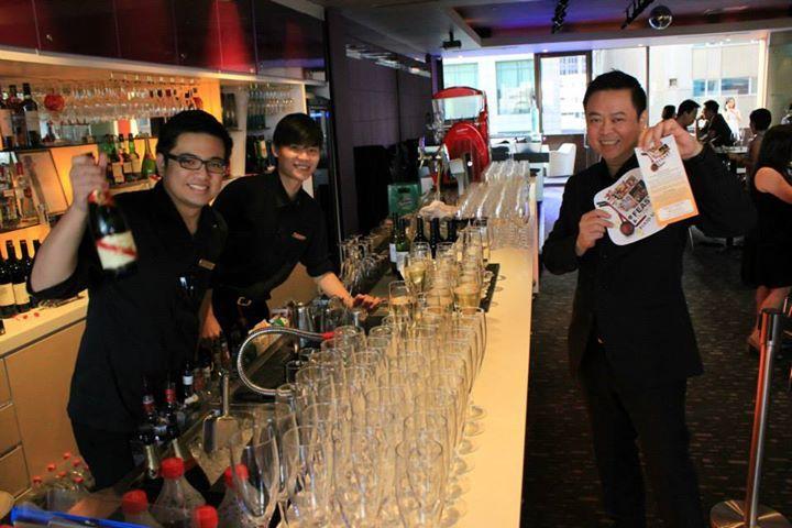 J Bar crew - M Hotel Singapore