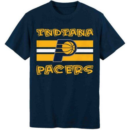 NBA Indiana Pacers Toddler Team Short Sleeve Tee, Toddler Boy's, Size: 25 Months, Black