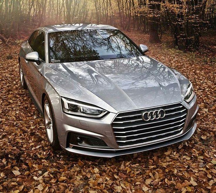 Le nouveau style Audi avec la calandre massive d'un bloc sans pare-choc visible...  Pas très subtile ni fin, mais parait il efficace pour l'aérodynamique et le refroidissement moteur...